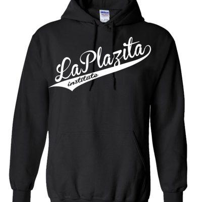 lpibaseball blkwhite hoodie